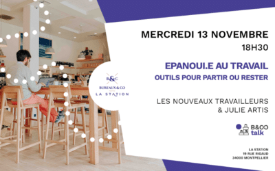 Conférence | S'épanouir au travail – 13 Novembre 2019 à Montpellier